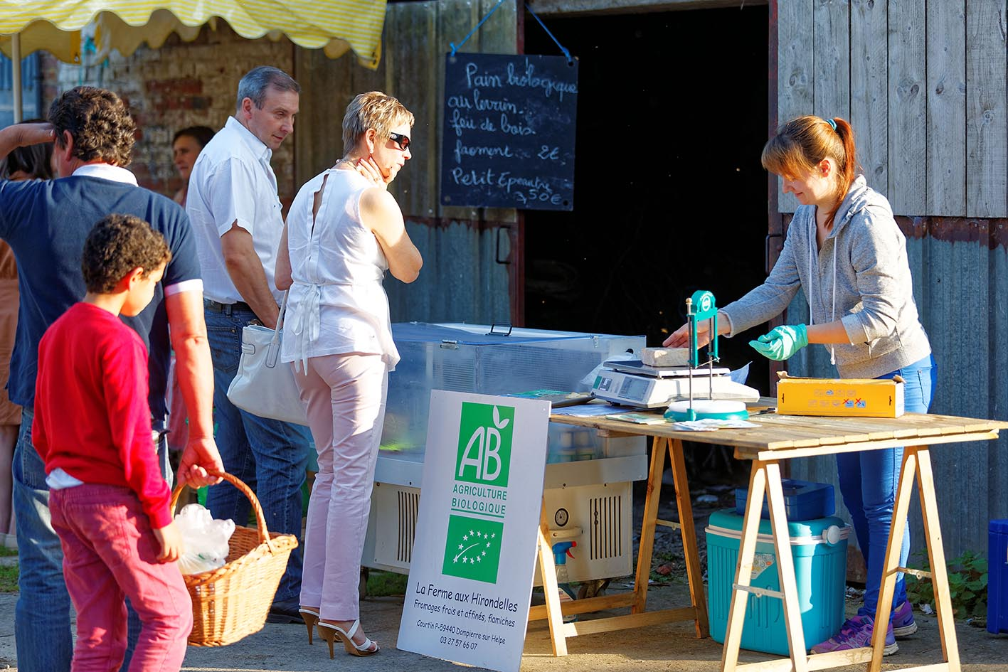 Marché Bio de Cartignies