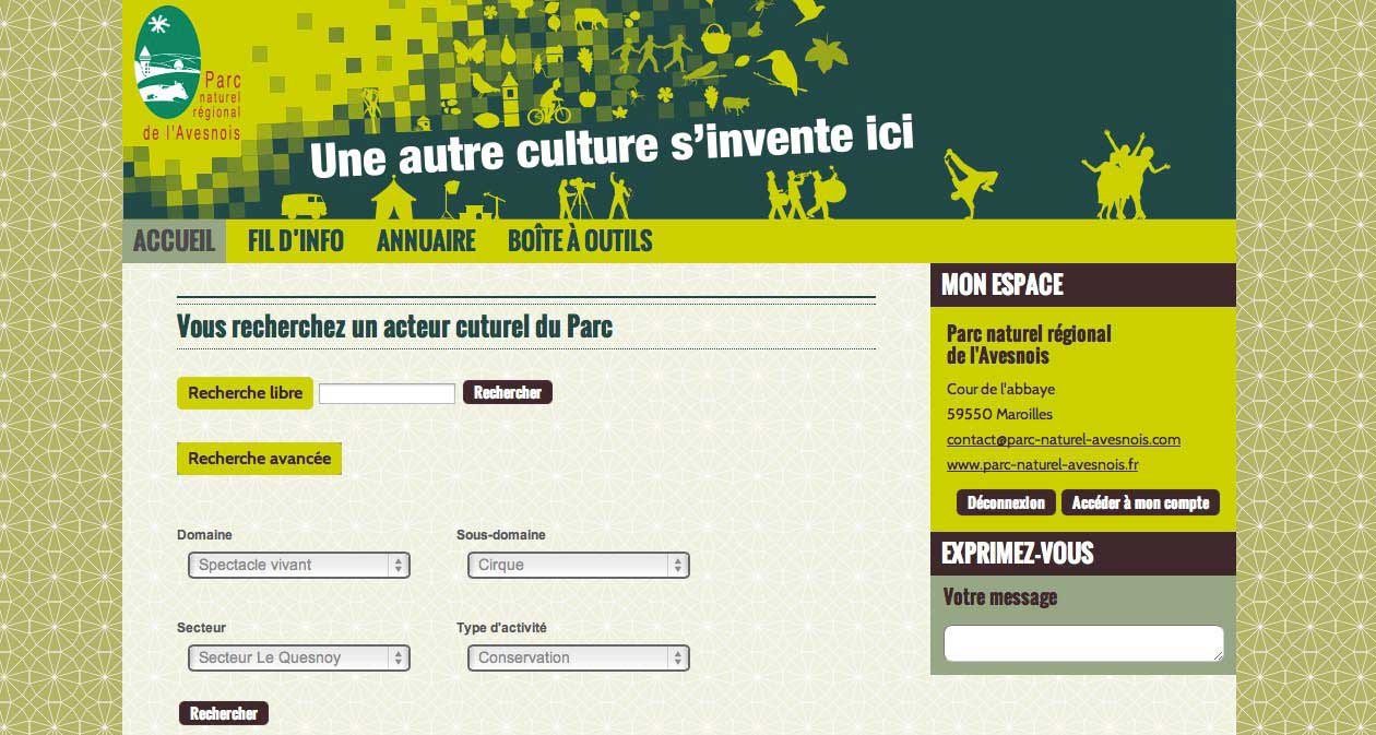 Site culture Avesnois